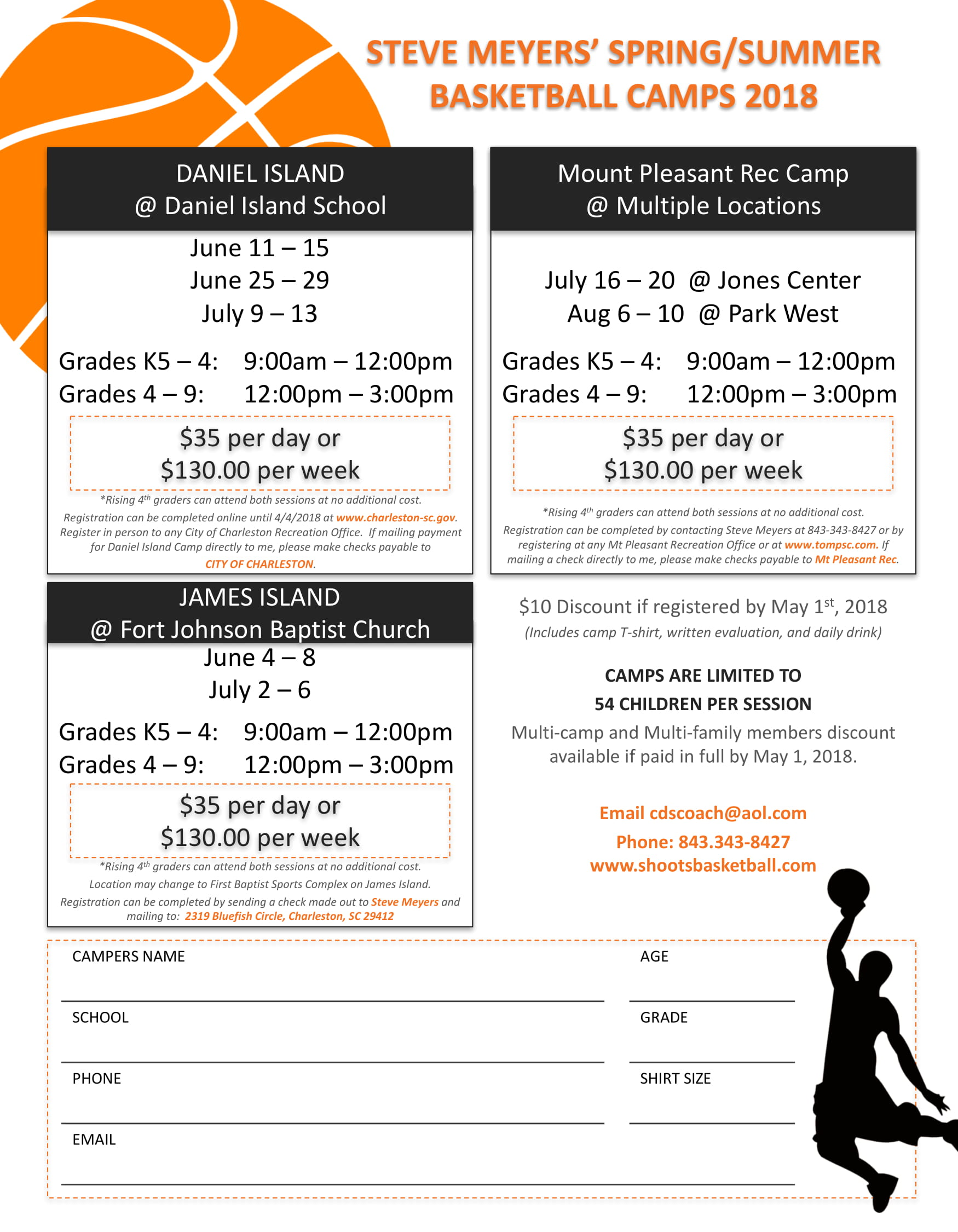 Meyers Summer Camp Flyer 18